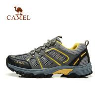 camel骆驼 户外男女鞋 透气情侣鞋 休闲徒步运动鞋