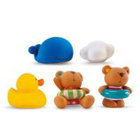 儿童戏水漂浮套装 小黄鸭子喷水男女孩花洒宝宝婴儿洗澡玩具