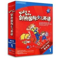 剑桥国际少儿英语1 Kid's Box学生包1 点读版第一级册 剑桥少儿英语一级学生 活动用书 光盘互动DVD 指导用