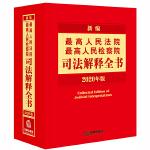 新编最高人民法院 最高人民检察院司法解释全书(2020年版)