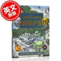 现货 我的世界地图:探索指南 Minecraft攻略书 英文原版 Minecraft Maps : An Explore