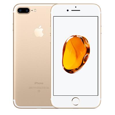 Apple iPhone 7 Plus 128G 金色手机 支持移动联通电信4G可使用礼品卡支付 国行正品 全国联保