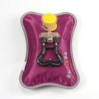 电热水袋充水防爆充电暖宝宝毛绒水袋暖手宝已注水可拆洗