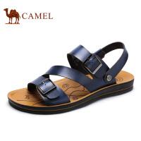【领券下单立减111元】camel骆驼凉鞋 夏季新款 日常休闲沙滩鞋舒适百搭凉拖鞋 男款