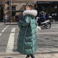中长款孕后期外套棉袄潮2019新款冬装孕妇韩版宽松大码棉衣