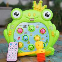 儿童玩具女孩电动打玩具幼儿敲打女宝宝1-2-3周岁男孩