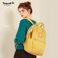 女士休闲校园高中学生书包女士韩版时尚旅行背包双肩包