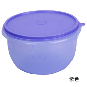特百惠专柜 保鲜盒精巧MM圆形迷你零食盒干货储藏盒200ml