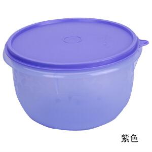 特百惠 1.9L星愿佳节碗 冷藏保鲜储藏密封大圆碗 沙拉碗 紫色