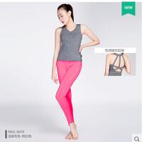 新款瑜伽服健身房女背心款速干含胸垫运动服两件套 可礼品卡支付