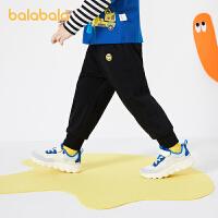 【2件6折价:59.9】巴拉巴拉儿童裤子男童防蚊裤女童长裤宝宝网红童装2021新秋装洋气