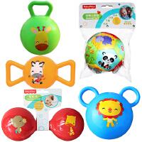 【当当自营】费雪(Fisher Price)儿童玩具球(认知球12片+摇铃球绿色+哑铃球红色+糖果球黄色+拉拉球蓝色)