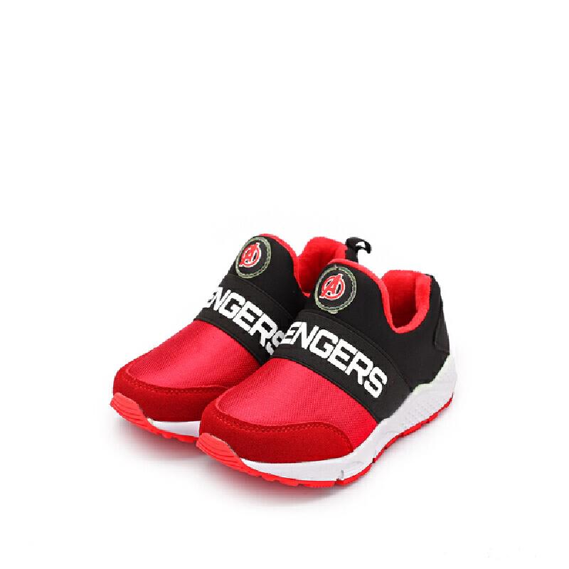 【119元任选2双】迪士尼Disney童鞋冬季加绒保暖男童女童休闲运动鞋 VA3854 【新年新时尚:限时119元2双】