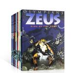 英文原版 Olympians 奥林匹斯主神系列10册古希腊神话全彩漫画书 Athena/Hades/Hera/Pose