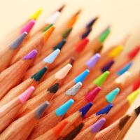 马可6100原木彩色铅笔24色 36色 48色美术绘画手绘填色素描马克油性彩铅纸筒装