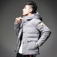 【 品质面料 穿着舒适】2018新款棉衣男士冬季外套棉袄子保暖羽绒棉服