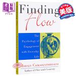 【中商原版】发现流 英文原版 Finding Flow The Perseus Books Mihaly Csiksz