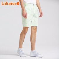 法国LAFUMA户外夏季薄款印花休闲短裤男跑步运动五分裤LMPA9BS34