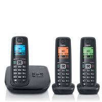 集怡嘉(Gigaset|SIEMENS)【西门子】 E710A套机 数字答录无绳电话机德国 录音通话功能 1拖2 1拖