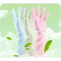橡乳胶皮薄款洗碗洗衣清洁耐用家务手套防水
