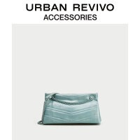 【当当超品价:127元】URBAN REVIVO2020春秋新品女士配件时髦链条斜挎包AA20BB3N2001