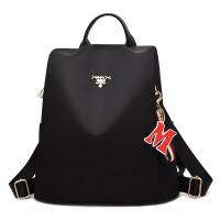女士旅行包包背包2019新款韩版时尚百搭帆布书包牛津布双肩包