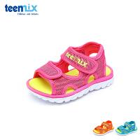 【119元任选2双】天美意teenmix童鞋男童女童休闲凉鞋宝宝鞋学步鞋 CX7640 CX7646 CX7651 C