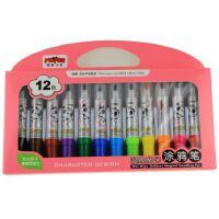 魔笔小良12色涂鸦笔2110B(可加墨水)
