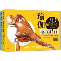 瑜伽3D解剖书:肌肉篇+动作篇(套装共2册):重要的不仅是怎么做,更是为什么要这样做![精选套装]