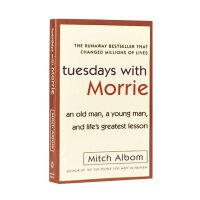 英文原版 相约星期二 Tuesdays with Morrie 十四堂星期二的课