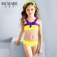 范德安品牌 儿童泳衣 女孩比基尼游泳衣大中童泳衣时尚可爱