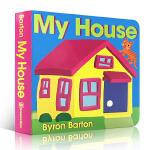 【顺丰速运】英文原版 my house Byron Barton/My Car byron barton bb 纸板书
