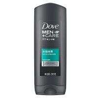 【每满100减50】多芬(Dove) 男士+护理 水动冰爽沐浴露 250g