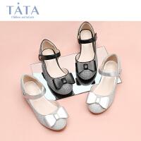 【3折价:176.4元】他她TATA女童皮鞋2020春季夏款公主鞋专柜同款软底演出鞋女孩舞蹈单鞋