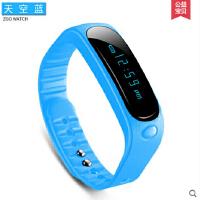 韩版简约led电子表女学生防水健身手表男 计步运动手环智能表
