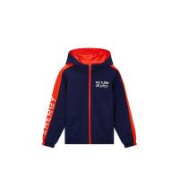 【1件3折到手价:119.7】361度童装男童外套连帽针织外套春季儿童两面穿外套K52011606