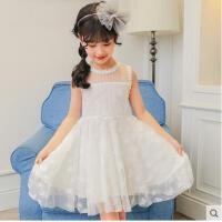 新款夏装小女孩连衣裙蓬童装女童公主裙蓬裙儿童夏季韩版裙子  可礼品卡支付