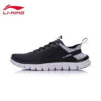 李宁健身鞋女鞋新款24H轻便耐磨防滑包裹网面低帮春秋运动鞋AFHM024