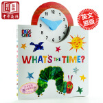 【中商原版】艾瑞卡尔的世界时钟 英文原版 The World of Eric Carle: What's The Ti