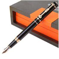 英雄1070吉祥如意铱金笔(大明尖)钢笔 黑丽雅 0.5mm
