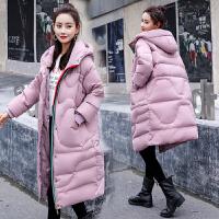 冬季韩版加厚棉袄大衣孕妇棉衣外套宽松中长款连帽冬装棉衣