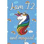 预订 I am 12 and Magical: Cute unicorn happy birthday journal