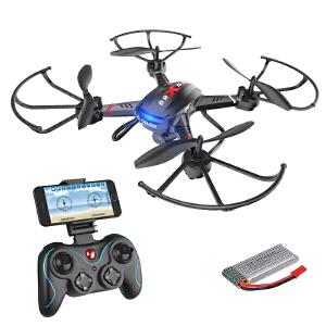 【满159减80】Holy STONE 航拍款 实时传输定高航拍无人2.4G电动 遥控飞机 玩具
