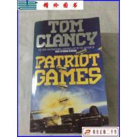 【二手9成新】TOM CLANCY Patriot Games 爱国者游戏 /Tom Clancy