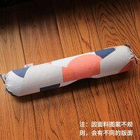 颈椎枕头单人护颈枕圆枕决明子圆形枕芯劲椎枕圆柱糖果枕
