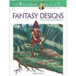 按需印刷 Creative Haven Fantasy Designs Coloring Book