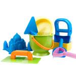 [当当自营]德国Hape 沙滩玩具9件套 儿童玩具 沙滩玩具 Suit0001