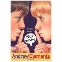 【中商原版】没有说话 英文原版 NO TALKING Andrew Clements Atheneum Books