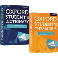 Oxford Student's Dictionary/Thesaurus 2册 牛津中学生英文词典 同义英文词典 词