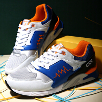 夏季新款情侣运动鞋网面男跑鞋增高时尚跑步鞋旅游鞋女